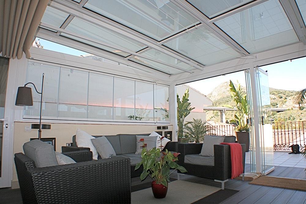 techos cristal